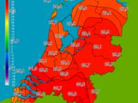 Officieel de warmste 17 mei sinds 1945